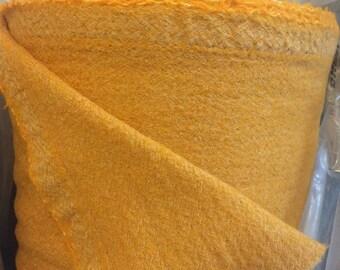 100% wool mustard