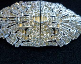 Ralph Polcini designed brooch/clasp combination