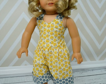 Rayna's Retro Romper Doll Size PDF Pattern