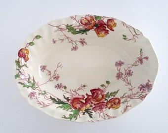 Royal Doulton England Sherborne Earthenware Oval Serving Bowl