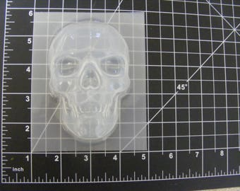 Skull Mold - Large Plastic Mold for Bath Bombs, Soap, Resin, Crafts, Chocolate, Rice Krispies, Large Plastic Skull Mould, Skull Mold