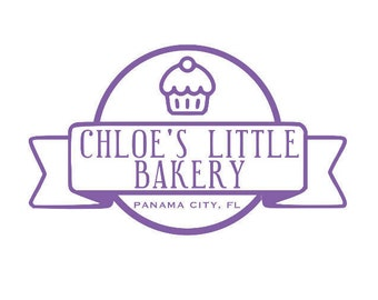 Your Little Bakery Decal *INCLUDES PERSONALIZATION!*