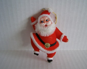 Vintage Santa Claus Christmas Tree Ornament Decoration Holiday