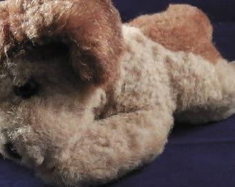 Vintage Steiff sleeping dog ca. 1970/80