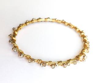 Gold Bling Bangle