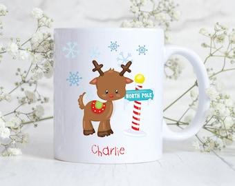 Personalised Christmas Eve Mugs, christmas eve box fillers, christmas eve mug children, personalised christmas mugs children
