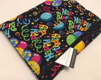Composition Notebook Cover, Happy Birthday