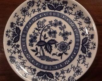 Vintage Nordic Blue five 6  bread plates Japan Blue Onion Blue Danube blue transfer ware World Wide Quality? & Blue nordic plates   Etsy