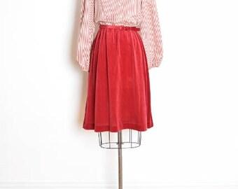 vintage 70s dress, 70s secretary dress, victorian dress, burgundy dress, 70s clothing, striped dress, shirtwaist dress, lace ruffle M medium