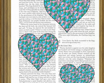 Three Hearts on Bible Page