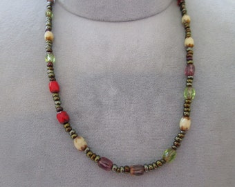 Necklace by Rachel all Beads