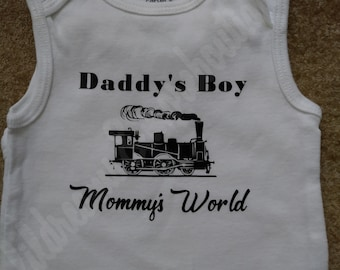 Daddy's/Mommy's onesie or tee