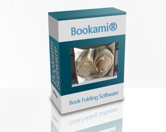 Bookami® Book Folding/Bookfolding Software/Program..Create Your Own Book Folding Patterns! NEW FEATURE: Create Cut and Fold Patterns!!