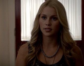 The Originals Rebekah's Necklace - Heavy Metal Byzantine Choker - Chainmaille - Medium