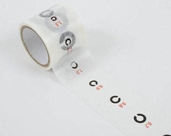 LIMITED TAPE -- eye exam masking tape