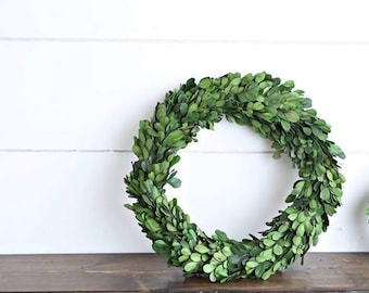 Farmhouse Boxwood Wreath, Preserved Boxwood Wreath, Wreaths, Preserved Boxwood, Wreath, All Season Wreath, Best Selling Wreath, Farmhouse