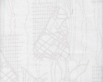 Robert Kaufman Carolyn Friedlander Friedlander Aerial in Shadow - Half Yard