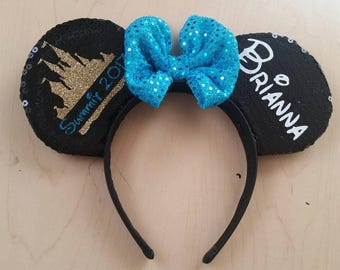 Mickey mouse ears (can be customized)