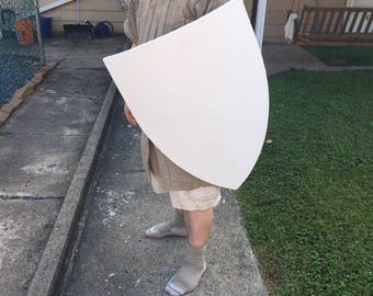 "Medieval ""Transitional"" Heater Shield BLANKS - 24 inch Curved"