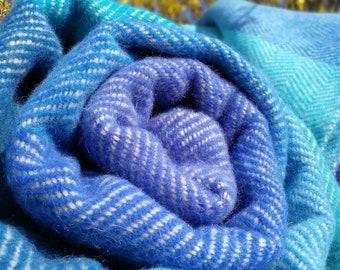 Periwinkle blue blanket