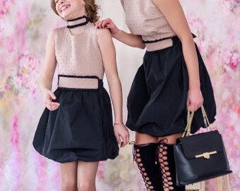Mother And Daughter Matching Dress Matching Family Great Getsby Dress Matching Mommy Outfit Mommy and me Dress Matching Mother Couture dress