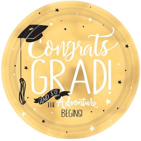 8 Graduation Party Plates Graduation Paper Plates Graduation Party Supplies Graduation Tableware Graduation Decor Graduation 2018 from supersweetparty ...  sc 1 st  Etsy Studio & 8 Graduation Party Plates Graduation Paper Plates Graduation Party ...