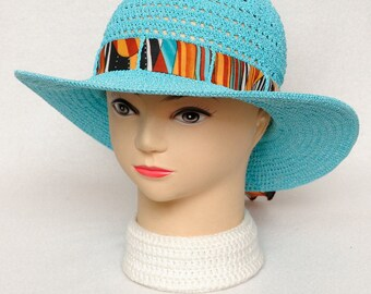 Sun Hat Crochet hat Summer Hat Womens gift for women Beach Hat Womens Hats Gift for Her Womens Wide brim hat Brimmed hat Beach Accessories