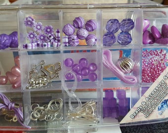box of mixed beads kit