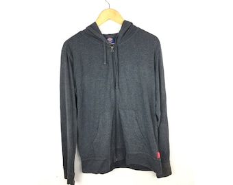 DICKIES Long Sleeve Hoodies Fully Zipper Large Size Hoodies