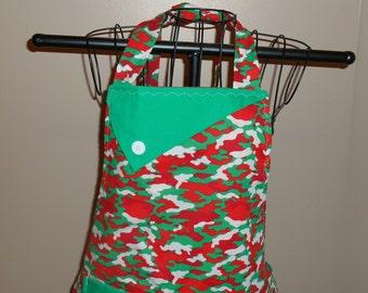 Christmas Camo Women's Apron