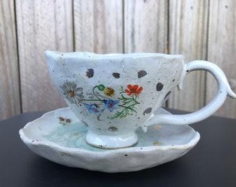 Coffee Cup | Teacup | Coffee Mug | Clay Mug | Handmade