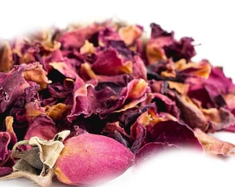 Dried Red Rose Petals 1 oz
