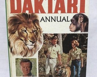 Daktari Annual BBC TV Africa Series 1967 Hardback Book