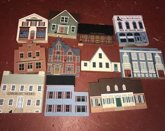 Cat's meow lot of houses and buildings