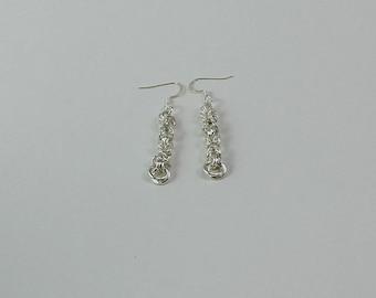 Byzatine Chainmaille Earrings