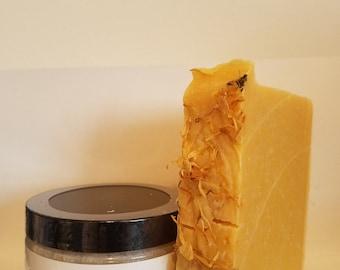 NEW: Lemongrass Soap and Emulsified Scrub Combo