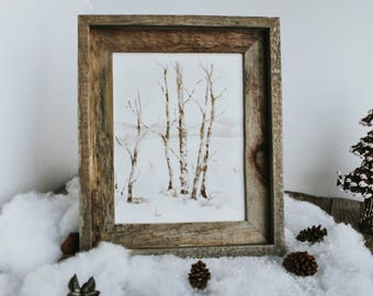 Winter Landscape Print, Snowy Trees, Winter Print, Watercolor Landscape, Watercolor Print, Home Decor, Snow,