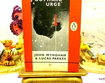 The Outward Urge Vintage Penguin Orange Paperback Book John Wyndham Classic Sci Fi