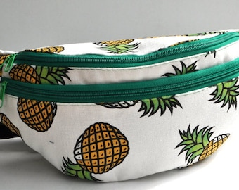 Fanny Pack pineapple, hip bag,bum bag,waist bag,belt bag,hip pouch,bags & purses festival bag, concerts bag, festival bag , camping bag