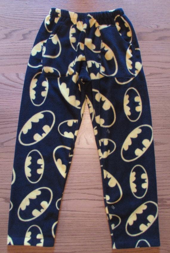 Batman forever fleece pajama pants / mens pajama pants /his