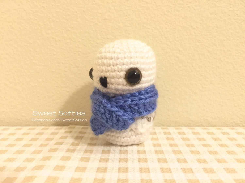 Amigurumi Kokeshi Doll Pattern : Amigurumi crochet owl animal bird kokeshi doll pattern snowy owlet