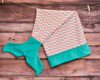 Infant Toddler or Kids Mermaid Blanket, Mermaid Tail Blanket Kids, Fleece Mermaid, Mermaid Blanket for Child, Doll Mermaid Tail, Mermaid