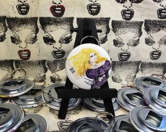 Delta Work Rupaul's Drag Race original art Bottle Opener
