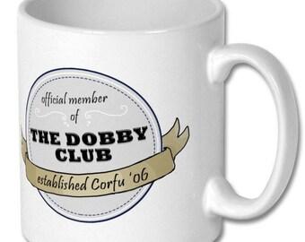 The Dobby Club membership mug