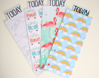 Today/This Week/This Month Page Markers For A5 Size Planners