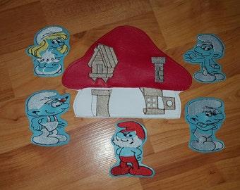 Smurf Finger Puppet Set