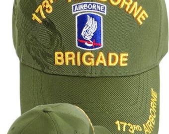 173rd Airborne Brigade cap