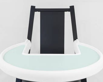 Soft Mint // IKEA Blames Highchair Silicone Placemat // High Chair Place Mat