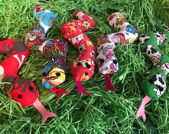 Slithers- The Snake Catnip/Valerian Cat Toys Handmade, Gifts For Cats and Kittens
