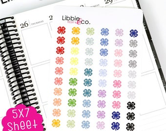 MC188 4H  Life Planner Die-Cut Stickers!   ECLP, Happy, Personal Planners!